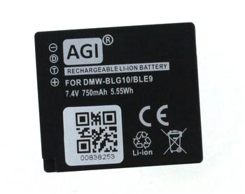 AGI Digitalkameraakku kompatibel mit LEICA BP-DC15 kompatiblen