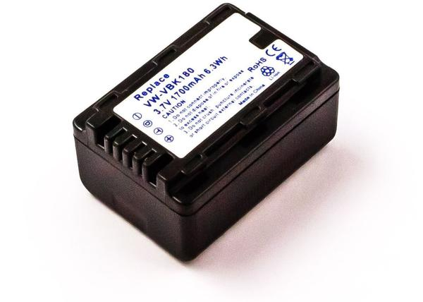 AGI Akku kompatibel mit Panasonic Hdc-Sd99 kompatiblen