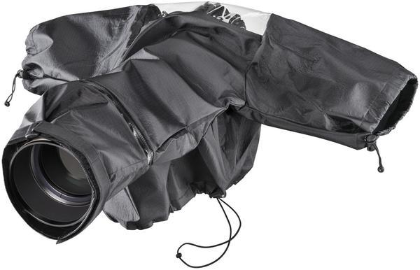 Kipon Regenschutzhülle TELE f. SLR schwarz