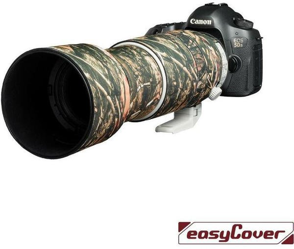 Discovered Easycover Lens Oak für Canon EF 100-400mm F4.5-5.6L IS II USM Wald Camouflage