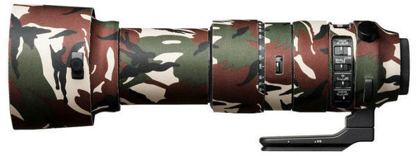 Discovered Easycover Lens Oak Cover for Sigma 60-600mm f4.5-6.3 DG OS HSM S grün-camouflage