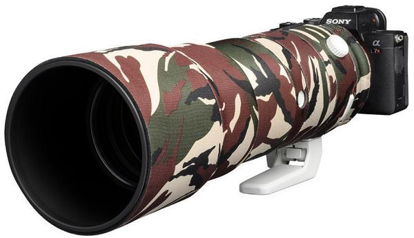 Discovered Lens Oak Cover für Sony 200-600mm OSS Camouflage grün