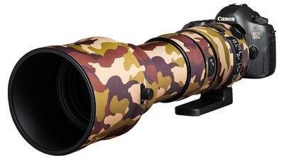 Discovered Easycover Lens Oak für Sigma 150-600mm f/5-6.3 DG OS Sport Braun Camouflage