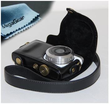 MegaGear MG393 Leder schwarz
