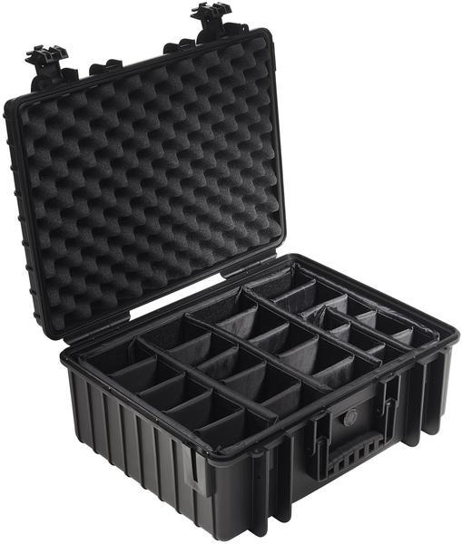 B&W Outdoor Case Typ 6000 incl. RPD schwarz