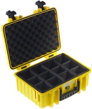 b-w-outdoor-case-type-4000-gelb-facheinteilung
