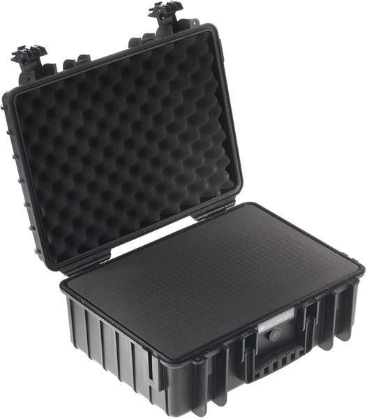 B&W Outdoor Case Typ 5000 incl. SI schwarz