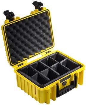 b-w-outdoor-case-type-3000-gelb-facheinteilung