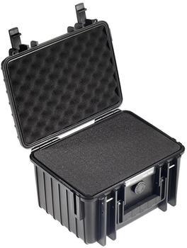 b-w-outdoor-case-type-2000-schaumstoff