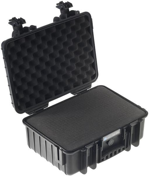 B&W Outdoor Case Typ 4000 incl. SI schwarz