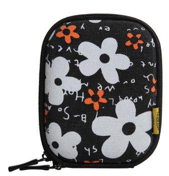 Bilora Shell Bag I flower schwarz