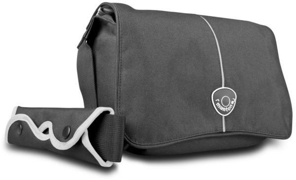 Mantona Cool Bag schwarz/weiß