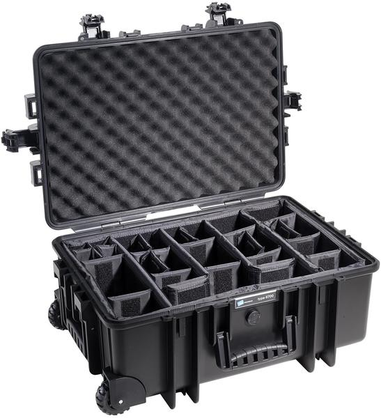 B&W Outdoor Case Typ 6800 incl. RPD