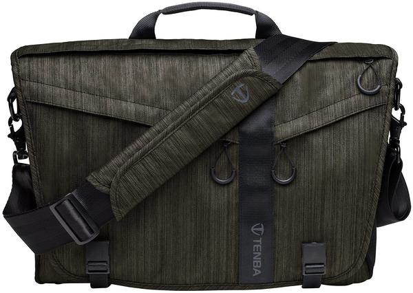TENBA Messenger DNA 15 Slim Olive