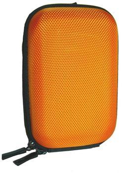 equipster Hartschalentasche orange für Olympus Stylus TG-4 - inklusive equipster Displayschutzfolie