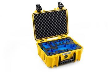 B&W Outdoor Case Typ 3000 incl. DJI Osmo+ / DJI Osmo X3 Inlay gelb