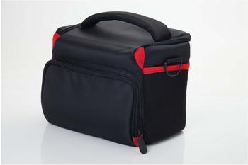 vhbw Kunststoff Kamera-Tasche für Canon EOS 1000D, 100D, 1100D, 1200D, 20D, 350D, 400D, 40D, 450D,