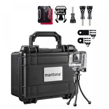 Mantona Koffer S Aufbewahrungsset I für GoPro