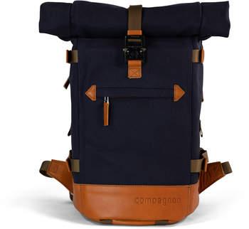 Compagnon the little backpack blau/hellbraun