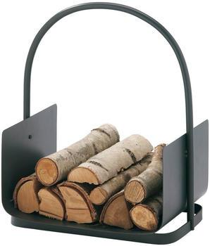 Süd-Metall Holzkorb anthrazit