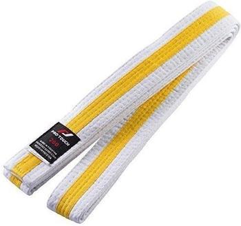 Pro Touch Budo-Gürtel Kinder weiß/gelb 240