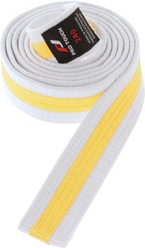 Pro Touch Budo-Gürtel Kinder weiß/gelb 300