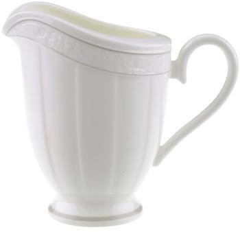 Villeroy & Boch Gray Pearl Milchkännchen 0,25 Ltr. weiß
