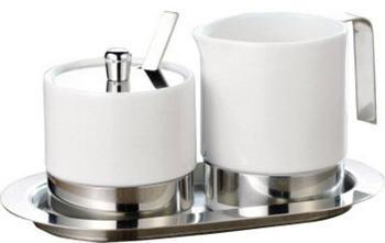 Esmeyer Zucker-Milchset Adam aus Porzellan 5-teilig