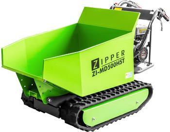 Zipper Miniraupendumper inkl. Schneeschild 6.0 kW Ladekapazität (max.) 500 kg