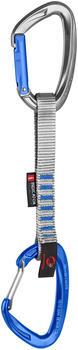 Mammut Crag Indicator Wire Express Set 15cm silver/ultramarine