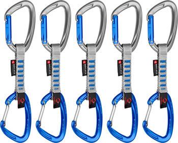 Mammut 5er Pack Crag Indicator Wire Express Set 10cm silver/blue