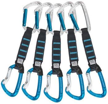 Climbing Technology Aerial Pro Set NY 12cm 5er Pack (12cm, white blue)