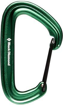 Black Diamond Litewire Carabiner Green
