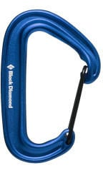 Black Diamond Litewire Carabiner Blue