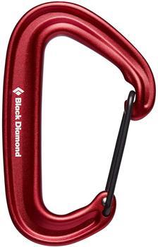 Black Diamond Miniwire Carabiner Red