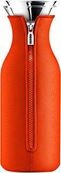Eva solo Kühlschrank Karaffe mit Neopren-Mantel 1,0 l tangerine-orange