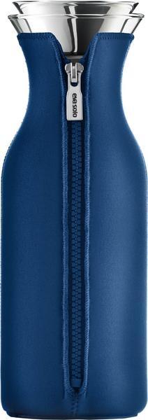 Eva solo Kühlschrank Karaffe mit Neopren-Mantel 1,0 l porzellan blau