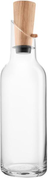 Eva solo Glaskaraffe mit Holzstopfen 1 L - transparent/H x Ø 29x8.5cm
