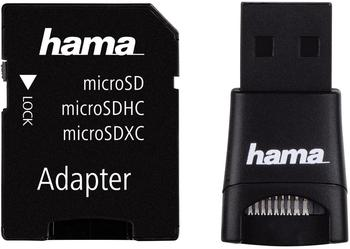 Hama 91047 microSD/microSDHC-USB-Adapter-Set