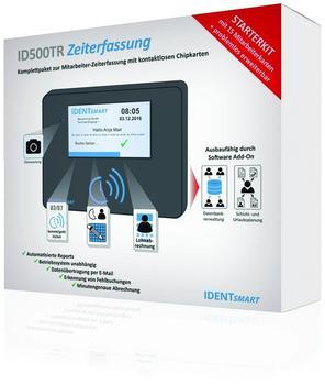 IDENTsmart Zeiterfassung ID500TR Starterkit mit 15 Mitarbeiterkarten