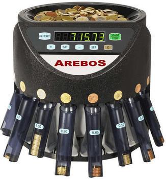 Arebos Automatischer Münzzähler