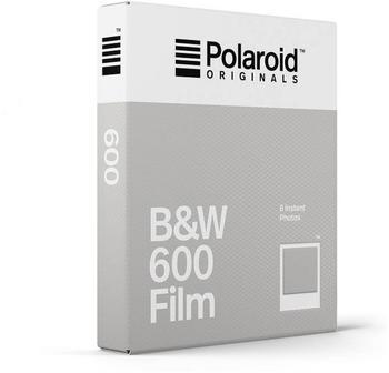 Polaroid B&W 600 White Frame