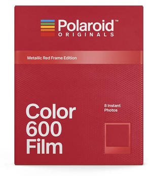 Polaroid Color 600 Red Frame Edition
