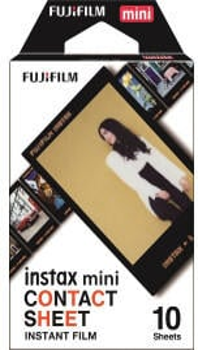Fujifilm Instax Mini Contact Sheet