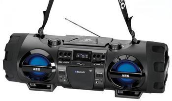 AEG SR 4360 BT + Kopfhörer
