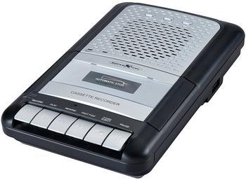 Reflexion CCR8012 AUX, Kassette, UKW, USB Aufnahmefunktion, Inkl. Mikrofon Schwa