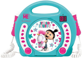lexibook-lexibook-fluffy-kinder-cd-player-mit-2-mikrofonen