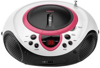 Lenco SCD-38 USB pink