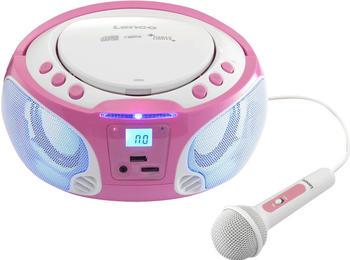 Lenco SCD-650 pink