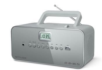 Muse M-28RLG grau CD-Radio MP3 PLL USB